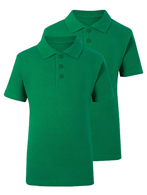 GEORGE 2 IN 1 POLO BOYS (GREEN)