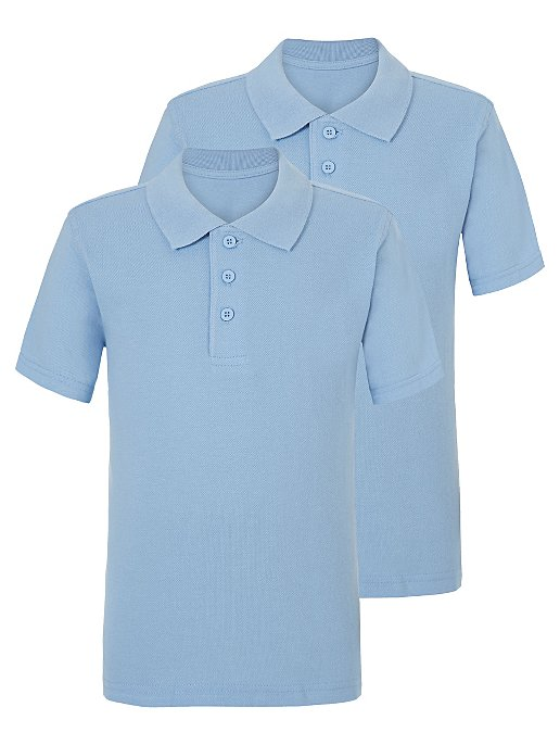 GEORGE 2 IN 1 POLO BOYS (L BLUE)