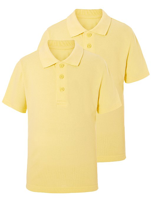 GEORGE 2 IN 1 POLO BOYS (L YELLOW)
