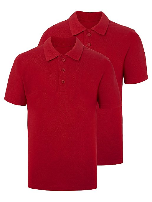 GEORGE 2 IN 1 POLO BOYS (RED)