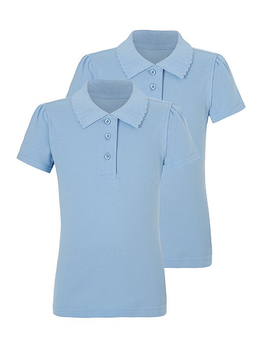 George 2 in 1 Short Sleeve Girls Polo – Uniforms and Apparels